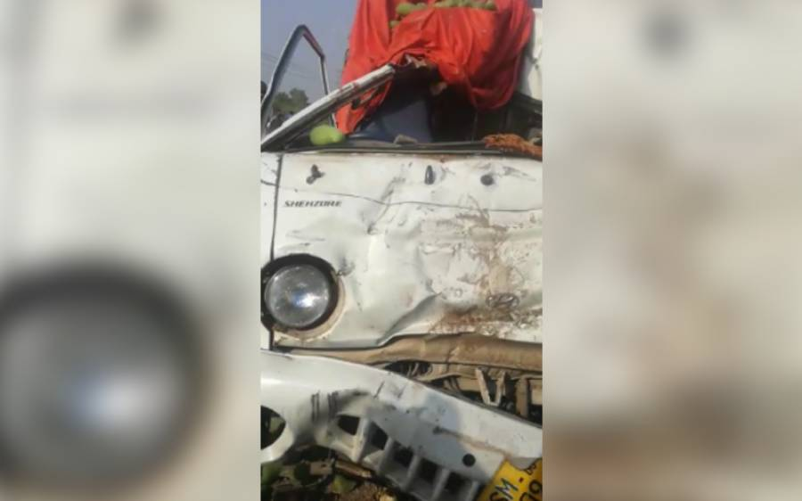 چوہنگ کے علاقہ میں ملتان روڈ پر ٹریفک حادثہ، دو افراد جاں بحق