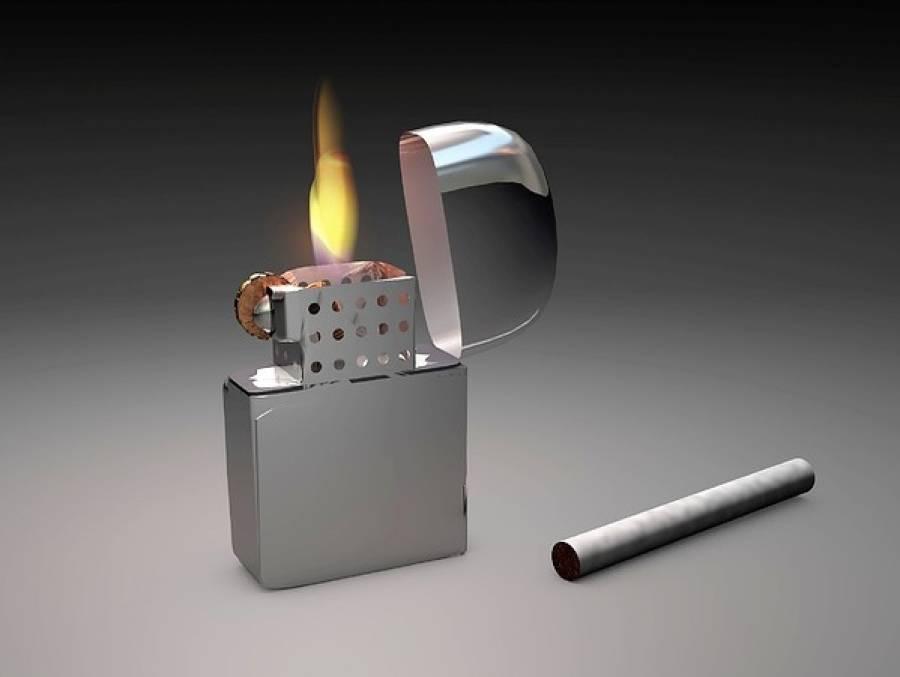 ایک سگریٹ لائٹر سے کورونا وائرس کیسے پھیلا؟ حیران کن خبر