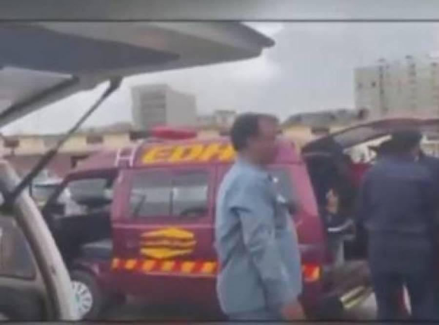 سٹاک ایکس چینج حملہ ،ہلاک دہشتگرد سلمان کے اہلخانہ لاش لینے کراچی پہنچ گئے