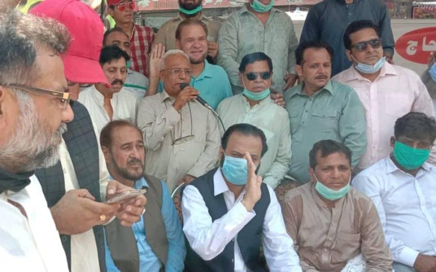 """ن لیگ کا لاہور سے """"گو عمران گو"""" تحریک کاآغاز، احتجاجی کیمپ لگائے گئے"""