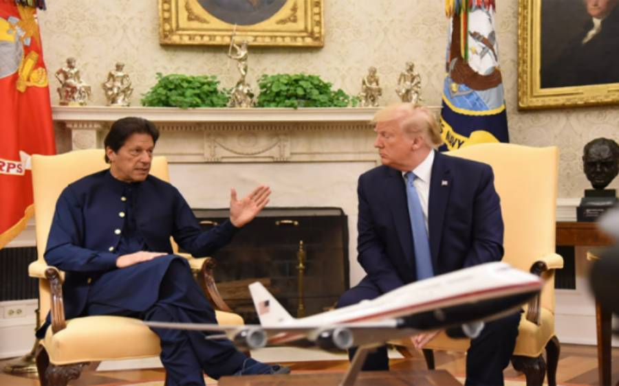 امریکی صدر ڈونلڈ ٹرمپ نے عمران خان سے کیا گیا وعدہ پورا کردیا