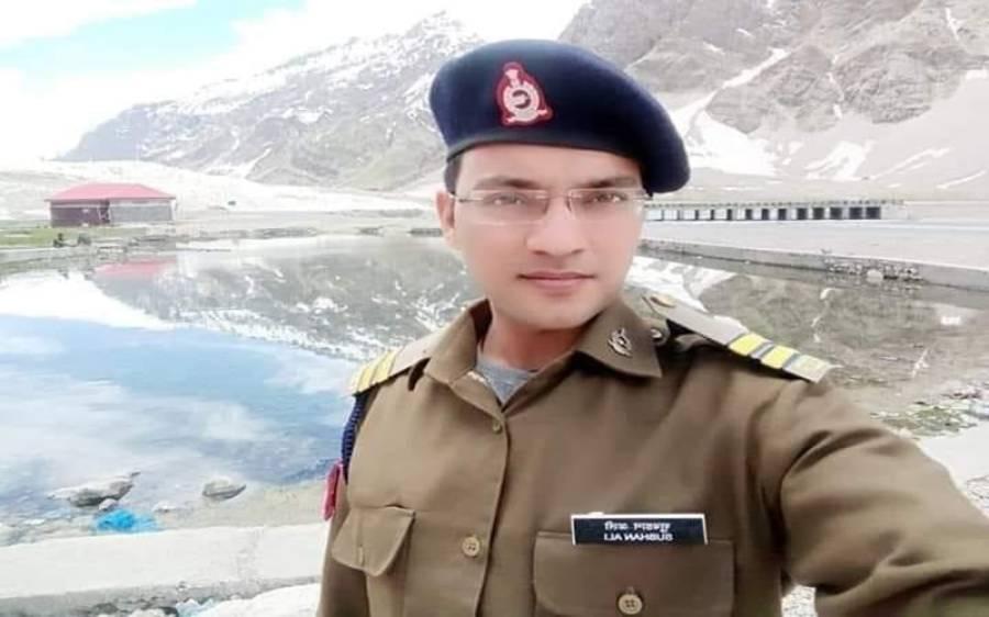 چینی سرحد پر سڑک کا معائنہ کرنے گیا بھارتی فوجی افسر لاپتا ہوگیا