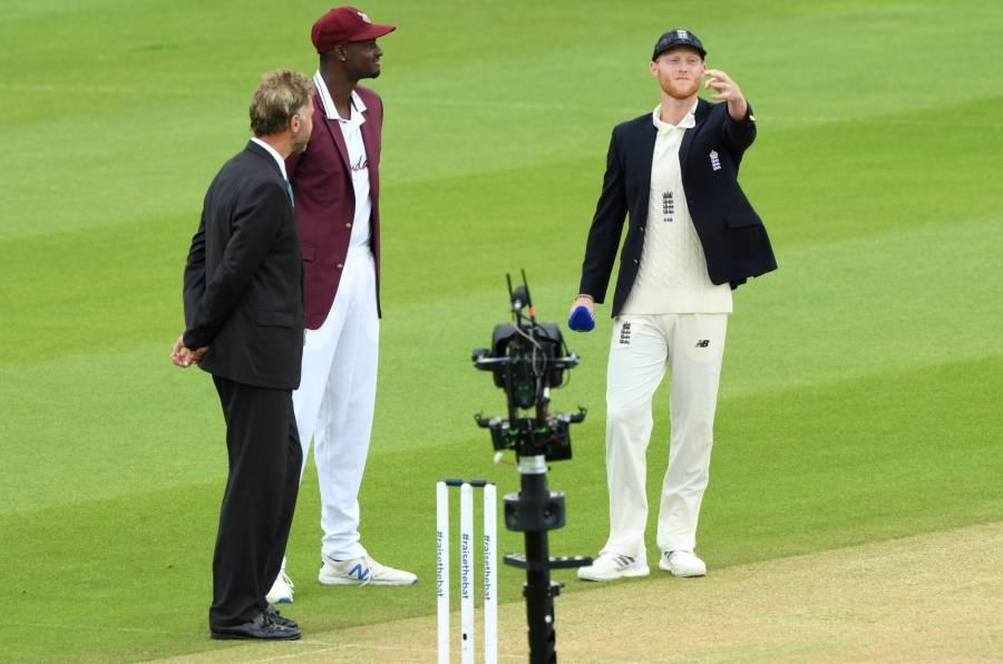 ویسٹ انڈیز اور انگلینڈ کے درمیان پہلے ٹیسٹ میچ کا ٹاس ہو گیا