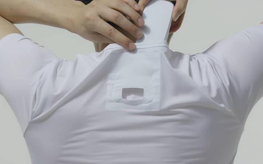 اب آپ اپنی قمیض میں بھی ایئر کنڈیشنر لگا سکتے ہیں، شاندار پراڈکٹ متعارف کروادی گئی