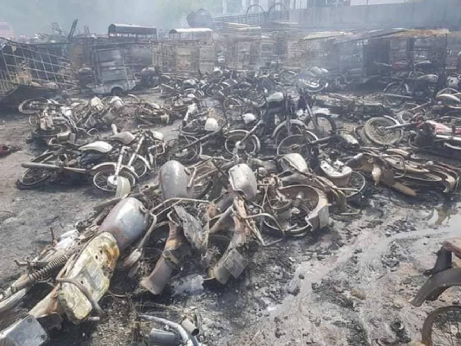 اوگرانے شاہدرہ ایل پی جی ٹینکر حادثے کا فیصلہ سنا دیا،ملوث کمپنیوں کو کتنا جرمانہ کیا گیا ؟تفصیلات آ گئیں