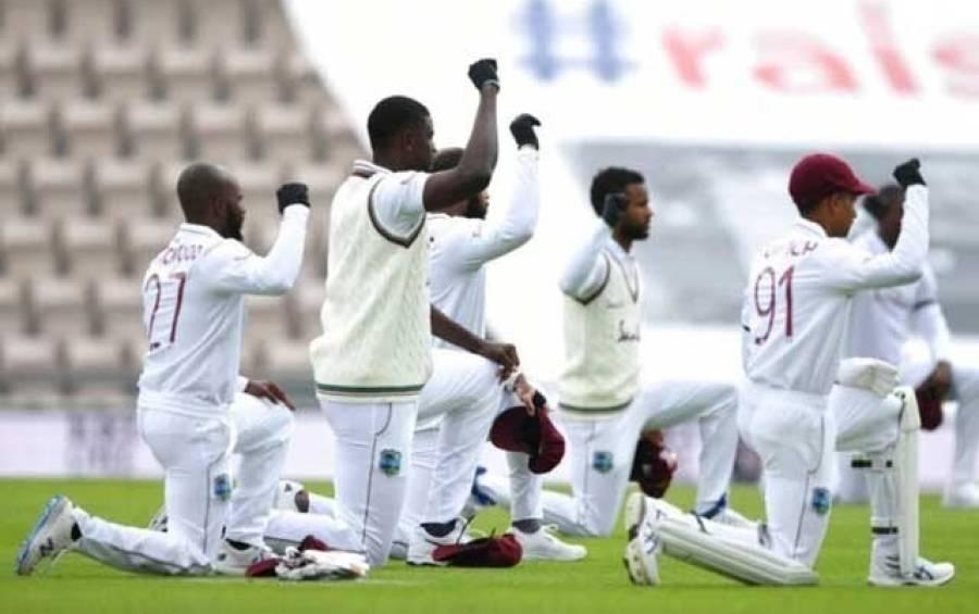 انگلینڈ اور ویسٹ انڈیز کے کھلاڑیوں نے میچ شروع ہونے سے قبل شاندار کام کر دیا، پوری دنیا کے دل جیت لئے