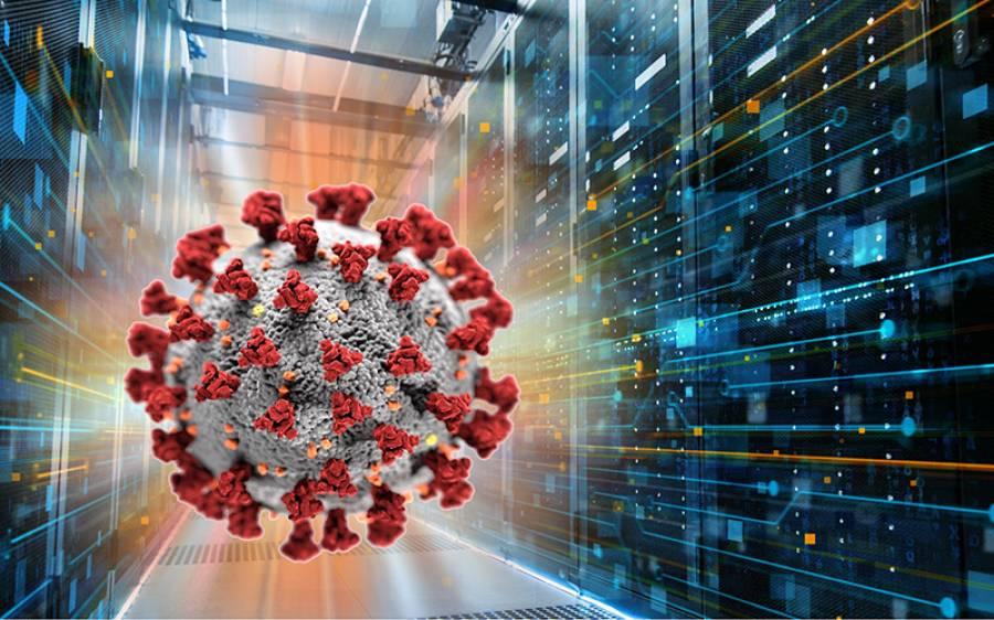 دنیا کے تیز ترین سپر کمپیوٹر نے کورونا وائرس کا پھیلاﺅ روکنے کا بہترین طریقہ بتادیا
