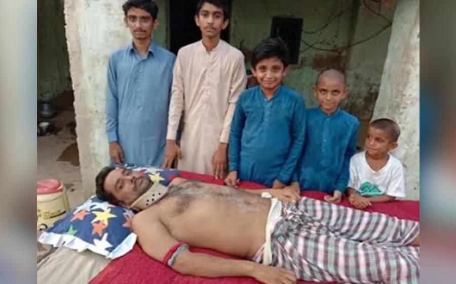 ڈھورونارو کے غریب استاد کے روڈ حادثے میں مہرے متاثر، علاج کے لیے اپیل