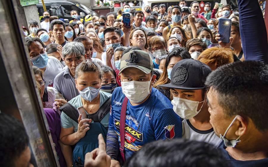 گزشتہ 24 گھنٹوں میں دنیا میں کورونا وائرس کے کیسز میں ریکارڈ اضافہ