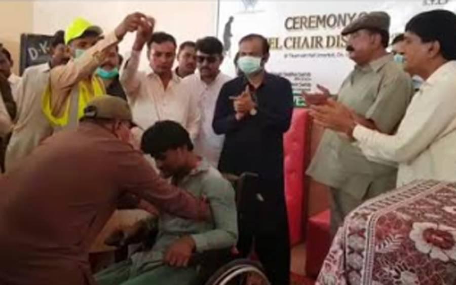 معذور اور سپیشل افراد معاشرے کا حصہ ہیں: رکن سندھ اسمبلی رانا ہمیر سنگھ