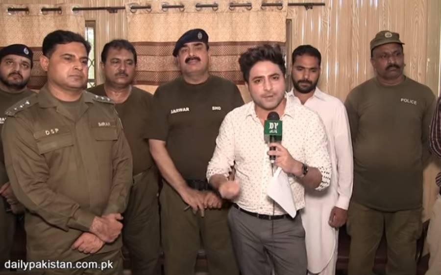 برقعہ پہن کر شہری کو لوٹنے والے چور کو پولیس والوں نے اپنی جیب سے 30 ہزار روپے دے دیے
