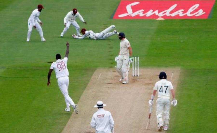 دوسرے ٹیسٹ میچ میں انگلینڈ نے ویسٹ انڈیز کو شکست دے کر بدلہ لے لیا