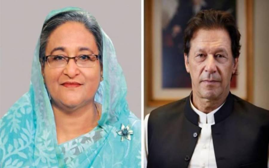 وزیراعظم عمران خان کا بنگلہ دیشی ہم منصب سے ٹیلی فونک رابطہ ،دورہ پاکستان کی دعوت