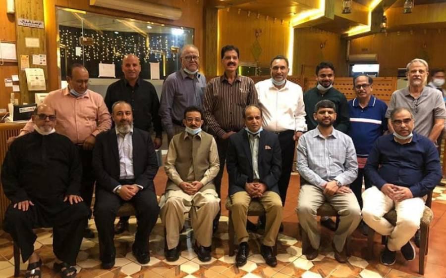 پاکستان قونصلیٹ جنرل جدہ سے سبکدوش ہونے والے قونصلر ارشد منیر کے اعزاز میں عشائیہ
