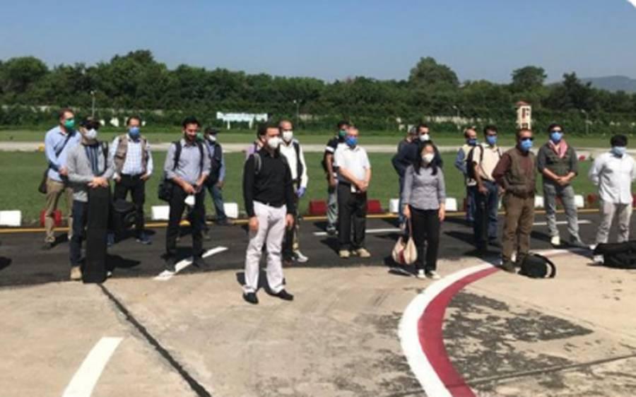 غیر ملکی میڈیا لائن آف کنٹرول کےپاس ایسی جگہ پہنچ گیا کہ بھارتی سرکار کی چیخیں نکل جائیں گی