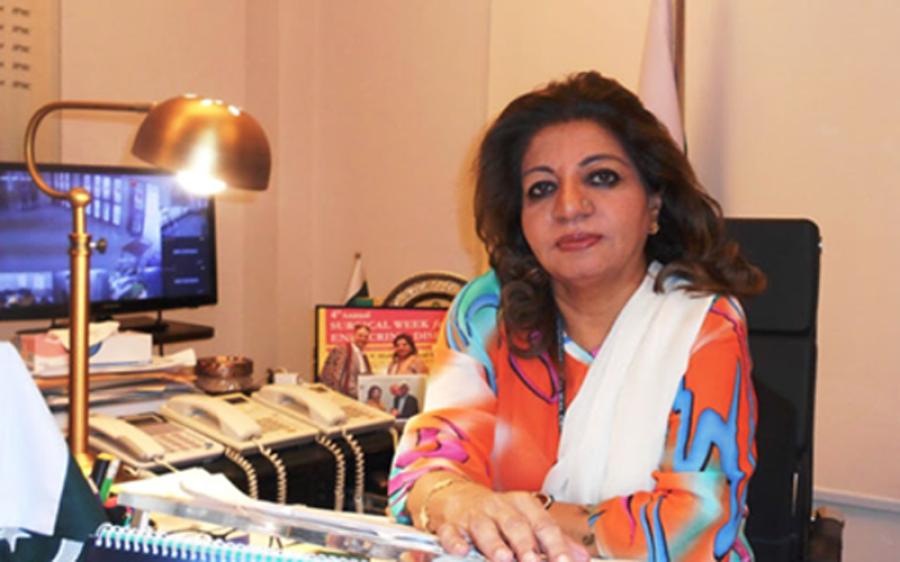 جناح ہسپتال کراچی کی ایگزیکٹو ڈائریکٹرڈاکٹرسیمی جمالی کینسر میں مبتلا ہوگئیں