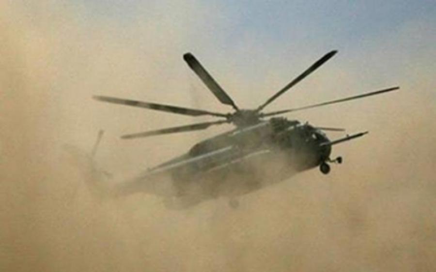 فوجی ہیلی کاپٹر تباہ ، ہلاکتیں