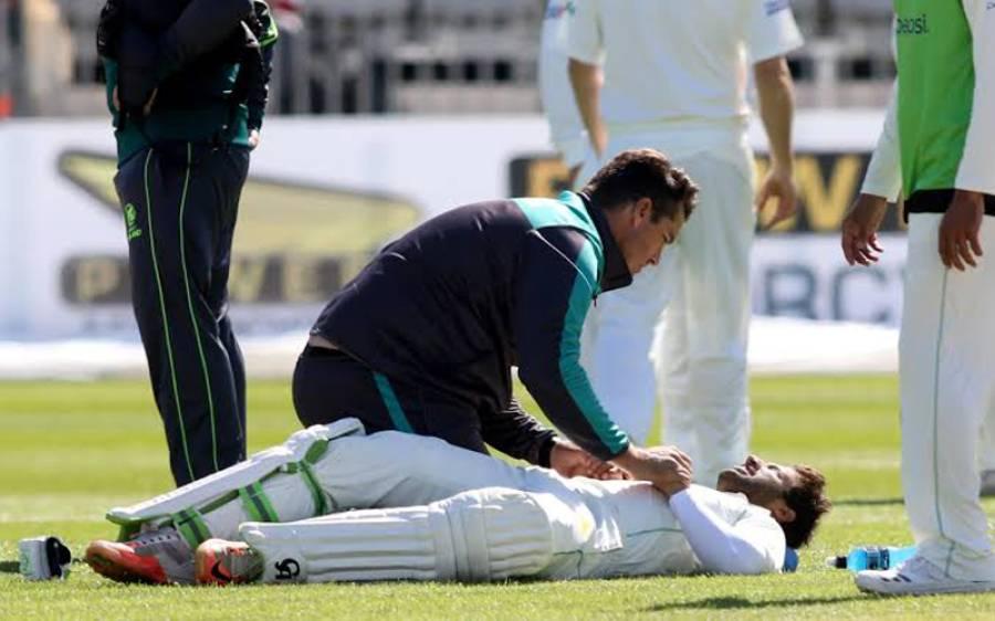 نسیم شاہ نے فواد عالم کے بعد ایک اور کھلاڑی کو زخمی کردیا