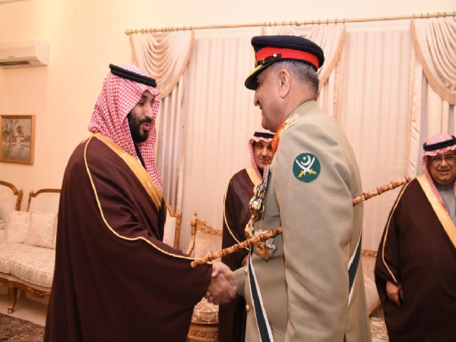 آرمی چیف جنرل قمرباجوہ کا سعودی ولی عہد کو ٹیلی فون، کیا بات چیت ہوئی؟