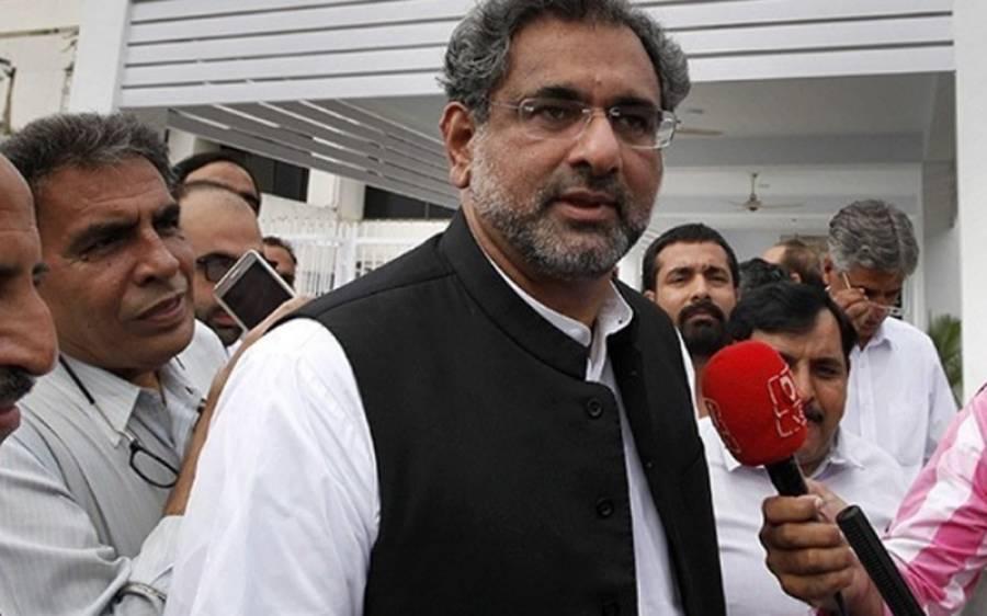 تحریک انصاف کی حکومت کھل کرسامنے آچکی،حکومت کیساتھ اب کوئی مذاکرات نہیں ہونگے، شاہد خاقان عباسی بھی میدان میں آگئے