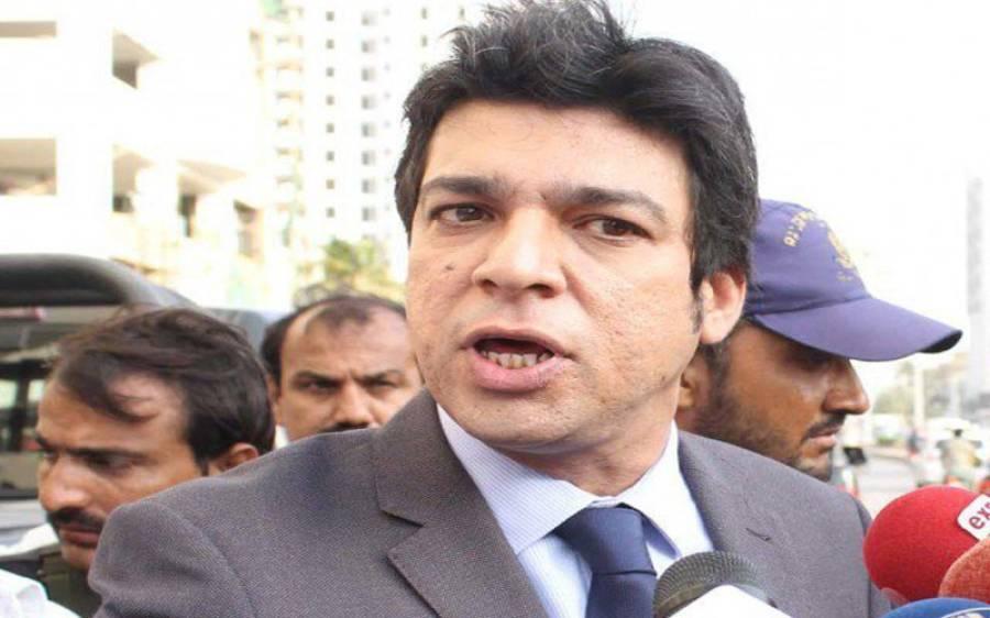 فیصل واوڈا نے اپوزیشن کو ٹی وی پر مناظرے کی پیشکش کردی