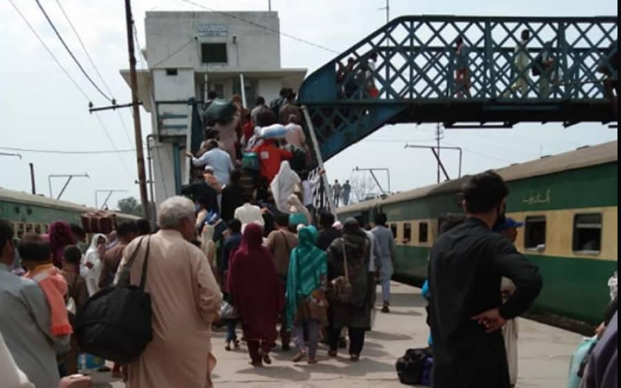 پاکستان کا تیسرا بڑا ٹیکسٹا ئل سٹی مزدوروں سے خالی ہو گیا ،بس اڈوں پر مسافروں کا رش ،ایس او پیز کی کھلم کھلا خلاف ورزی