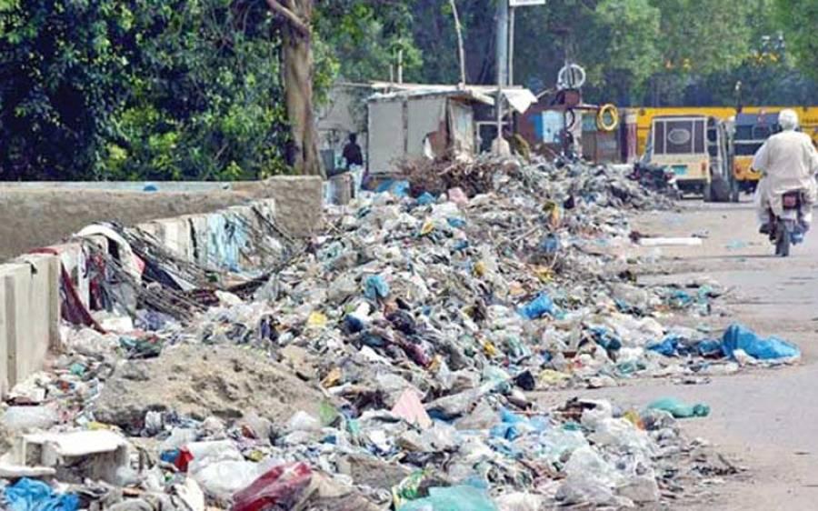 لاہور: عید الاضحی کے پہلے دن گندگی کے ڈھیر مزید بڑھ گئے