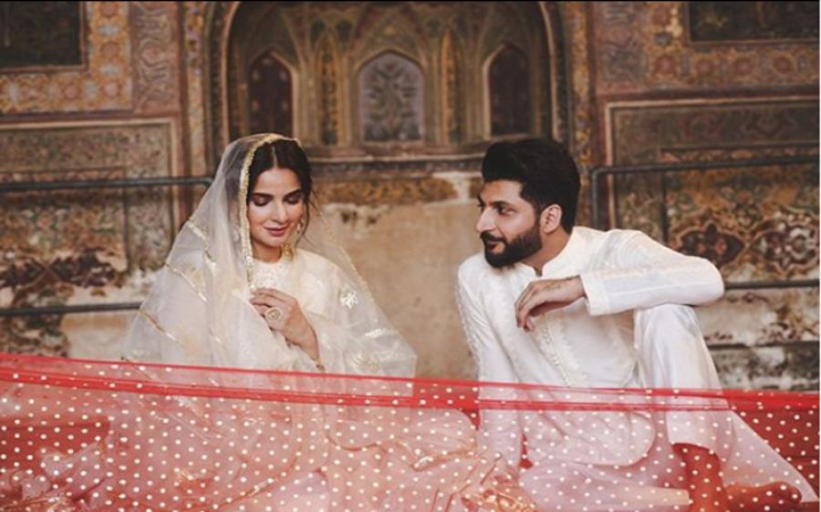 کیا صبا قمر نے گلوکار بلال سعید سے شادی کرلی؟ تصاویر نے تہلکہ مچادیا