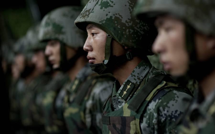 چین نے مزید ایک ہزار فوجی سرحد کے قریب پہنچا دیئے