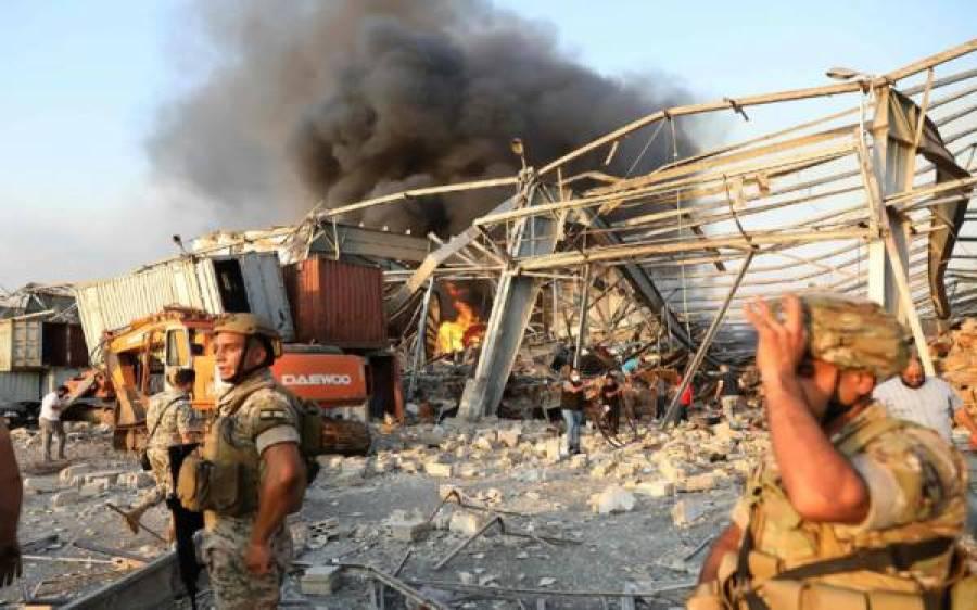 بیروت دھماکے میں پاکستانی سفارتخانے کو بھی نقصان پہنچنے کا انکشاف