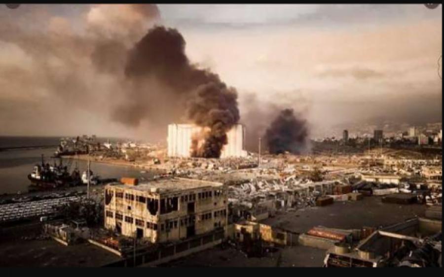 امریکہ اور فرانس کا بیروت کے متاثرہ عوام کو فوری امداد فراہم کرنے پر اتفاق