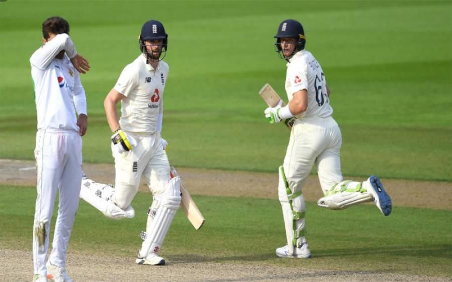 مانچسٹر ٹیسٹ ، انگلینڈ نے پاکستان کو3وکٹوں سے شکست دے دی