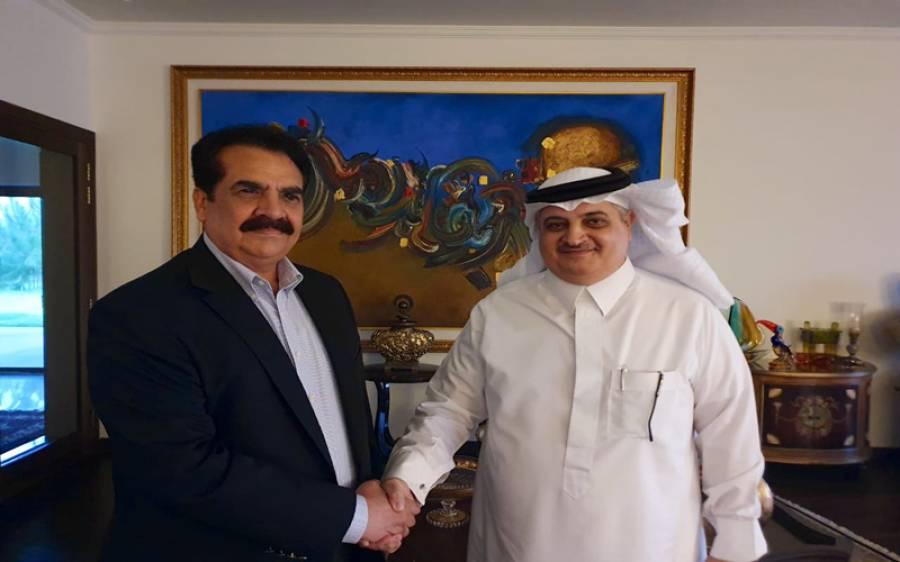 سعودی سفیر کی پاکستان میں ملاقاتوں کا سلسلہ جاری، عثمان بزدار اور چوہدری سرور کے بعد راحیل شریف سے بھی ملاقات
