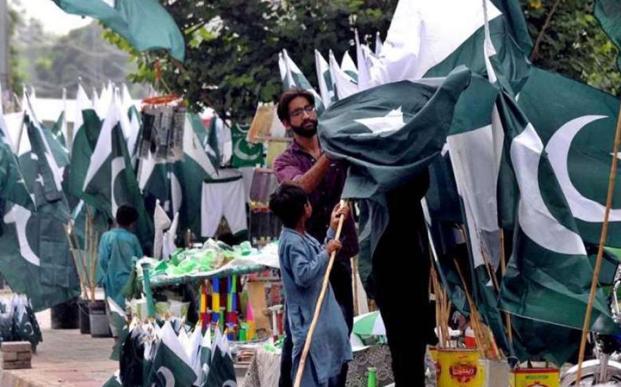 جشن آزادی کے سامان کی خریداری ، کراچی والوں نے ریکارڈ بنادیا