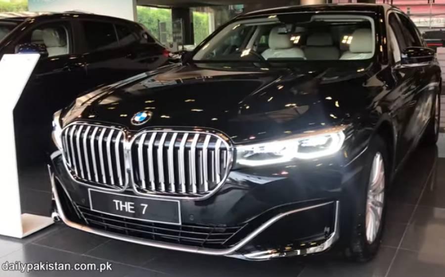 BMWکی نئی لگثری 7 Series xDrive جسے آپ بغیر پٹرول کے بھی چلا سکتے ہیں، اس کے حیران کن فیچرز اور قیمت جانیے