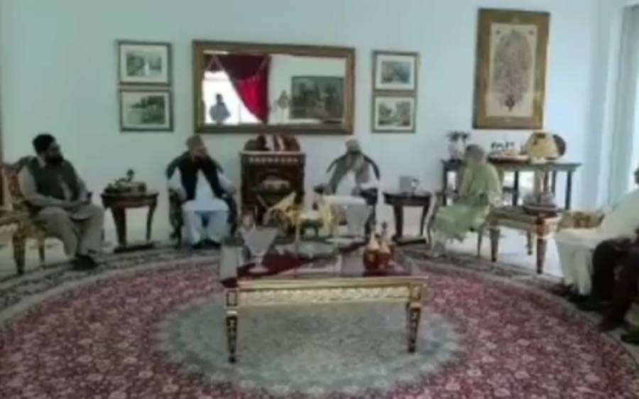 ملک کی بڑی مذہبی جماعت کے سربراہ وفد کے ہمراہ مریم نواز شریف سے ملنے جاتی امرا پہنچ گئے،وفد میں کون کون سے بڑے علما شامل تھے؟تفصیلات جانئے