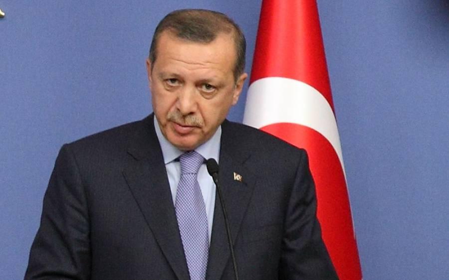 """"""" ہم پابندیوں اور دھمکیوں کے سامنے جھکیں گے نہیں، ہم اپنے۔۔۔"""" ترک صدر نے اعلان کردیا"""