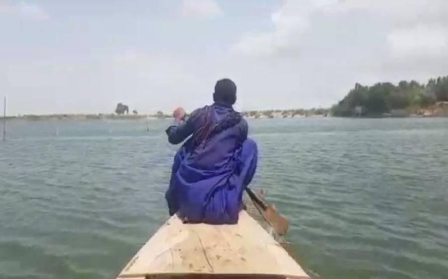 ٹھٹھہ :کینجھر جھیل میں کشتی الٹنے سے 3 خواتین 6 افراد جاں بحق