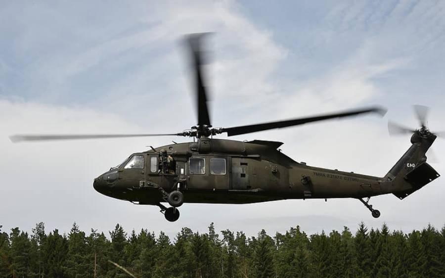 شام میں فوجی چوکی پر امریکی ہیلی کاپٹروں سے حملہ