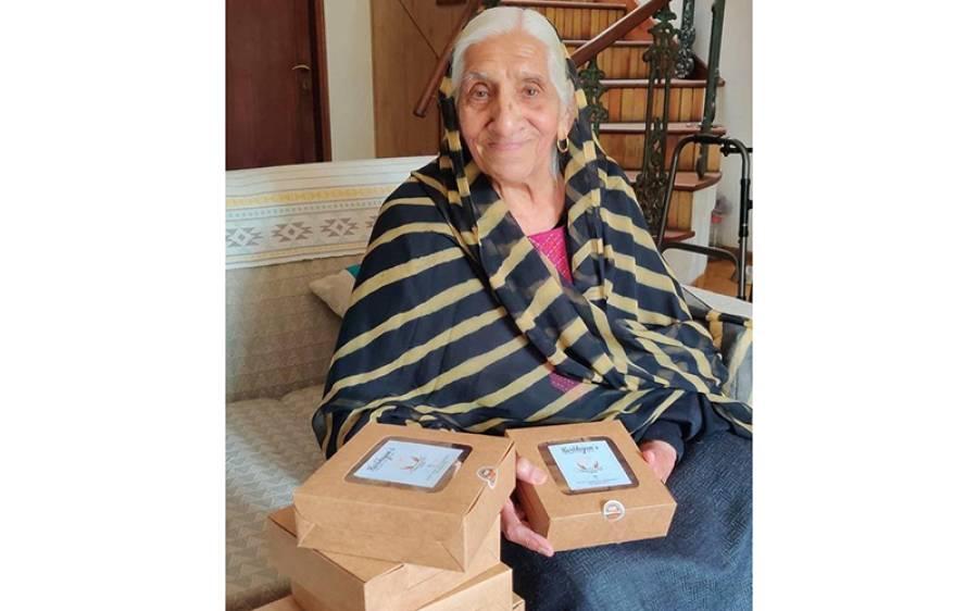 90 سال کی عمر میں اپنا کاروبار شروع کرنے والی خاتون، ہر نوجوان کے لیے بھی مثال بن گئی