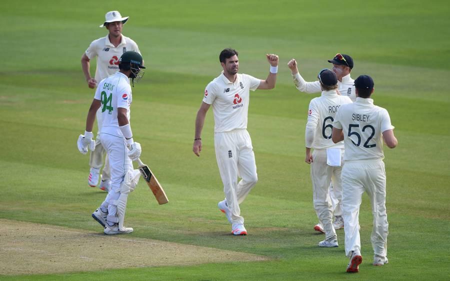 ساﺅتھمپٹن ٹیسٹ کے دوسرے روز کا کھیل ختم، پاکستان کے پہلی اننگز میں 3 وکٹوں پر 24 رنز، 559 رنز کا خسارہ باقی