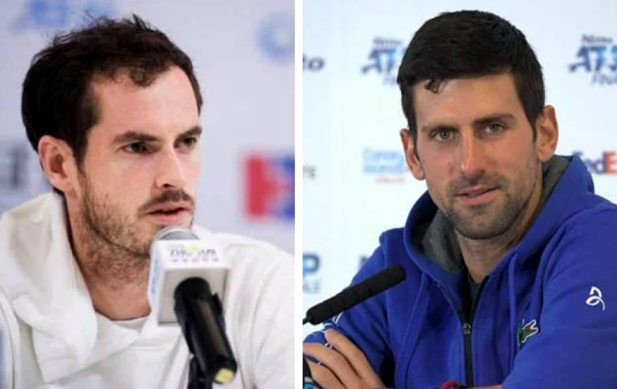 سنسناٹی اوپن ٹینس، اینڈی مرے اور نوواک جوکووچ نے اپنے اپنے میچز جیت لئے