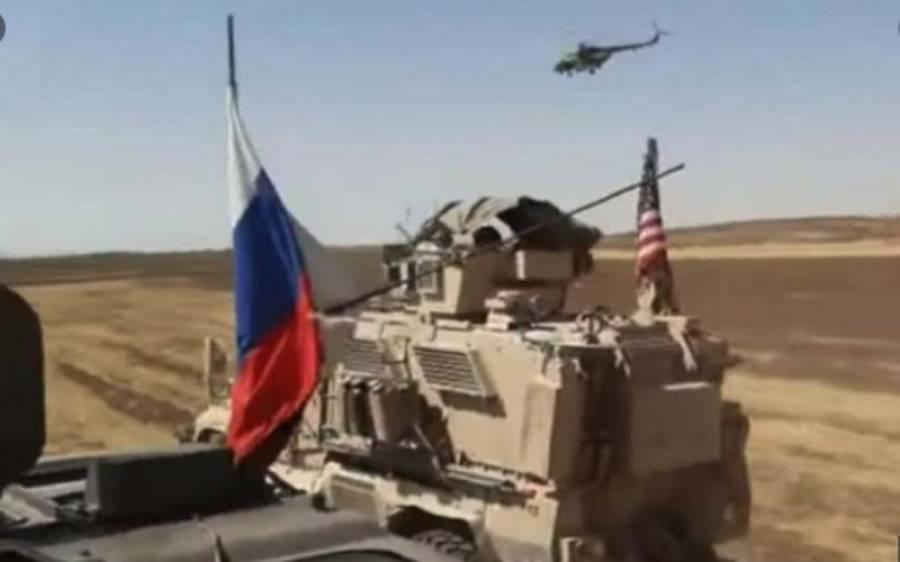 امریکہ اور روس کی فوجی گاڑیوں میں تصادم ،کس ملک کے فوجی زخمی ہوئے ؟جانئے