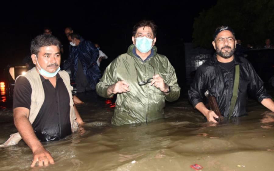 کراچی میں طوفانی بارشیں،وزیر اعلیٰ سندھ مرادعلی شاہ نےایسی بات کہہ دی کہ وزیراعظم عمران خان خزانے کا دروازہ کھول دیں گے