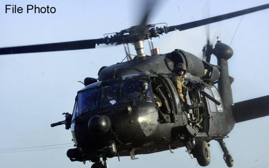 کیلیفورنیا میں بلیک ہاک ہیلی کاپٹر گر کر تباہ، 2 امریکی فوجی ہلاک،3زخمی