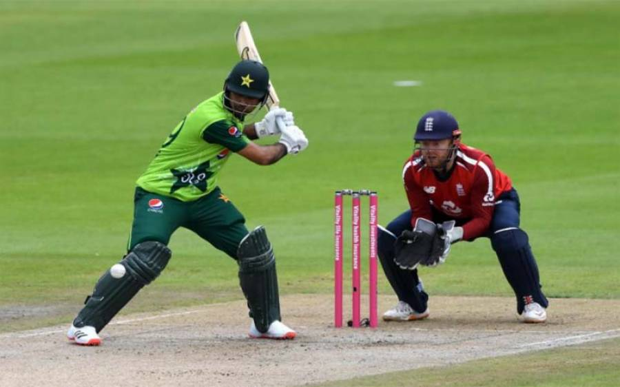 دوسرے ٹی ٹوئنٹی میں انگلینڈ کے خلاف پاکستان کی شاندار بیٹنگ جاری ،بارش کا کیا امکان ہے؟محکمہ موسمیات نے بتا دیا