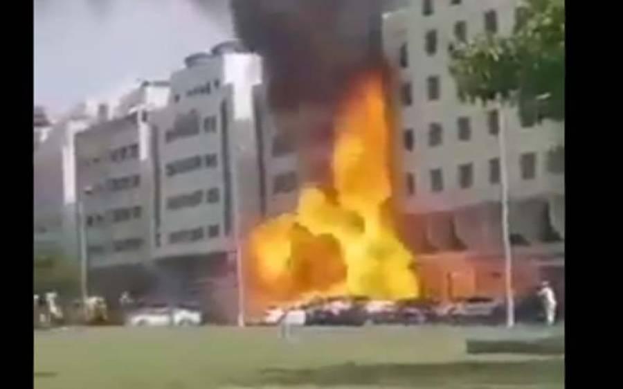 متحدہ عرب امارات میں دھماکہ ،دو افراد ہلاک