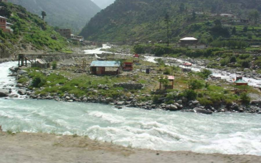دریائے سوات میں اونچے درجے کا سیلاب