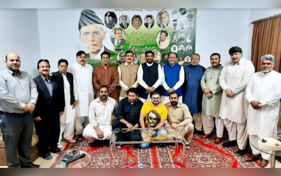 پاکستان مسلم لیگ (ن) کے زیرِاہتمام قائداعظم محمد علی جناح کی برسی منائی گئی