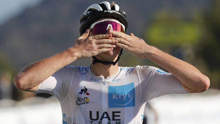 ٹور ڈی فرانس سائیکل ریس، سلوینیا کے تڈیج پوگاآر نے پندرہواں مرحلہ جیت لیا